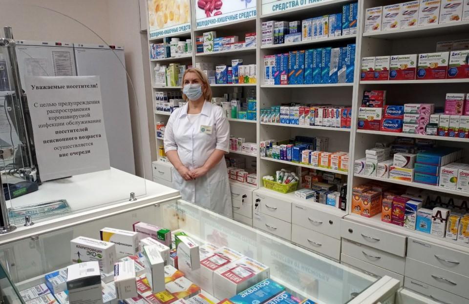"""""""Областной аптечный склад"""" создал запас лекарств на несколько недель вперед."""