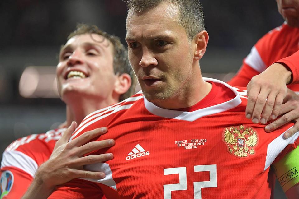 Артем Дзюба после скандала с интимным видео вычеркнут из состава сборной России как минимум на три ближайших матча.
