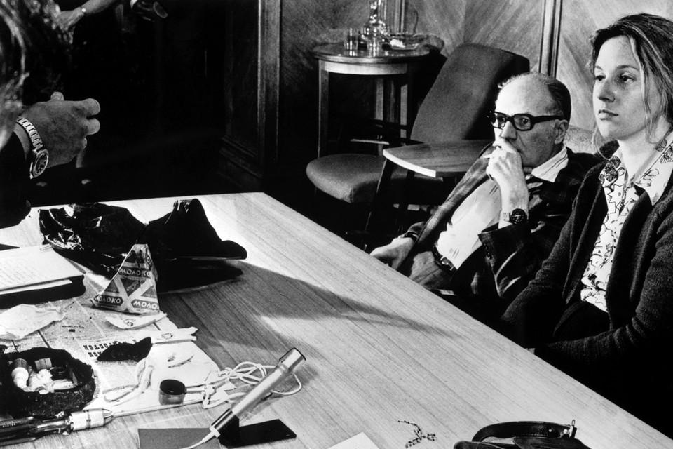13 июня 1978 года. Вице-консул США в Москве, сотрудник ЦРУ, работавшая под прикрытием государственного департамента США, Марта Петерсон и советник посольства Гросс, вызванный для опознания шпионки