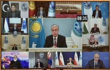 На заседании ШОС президент Казахстана призвал укреплять «коллективный иммунитет»