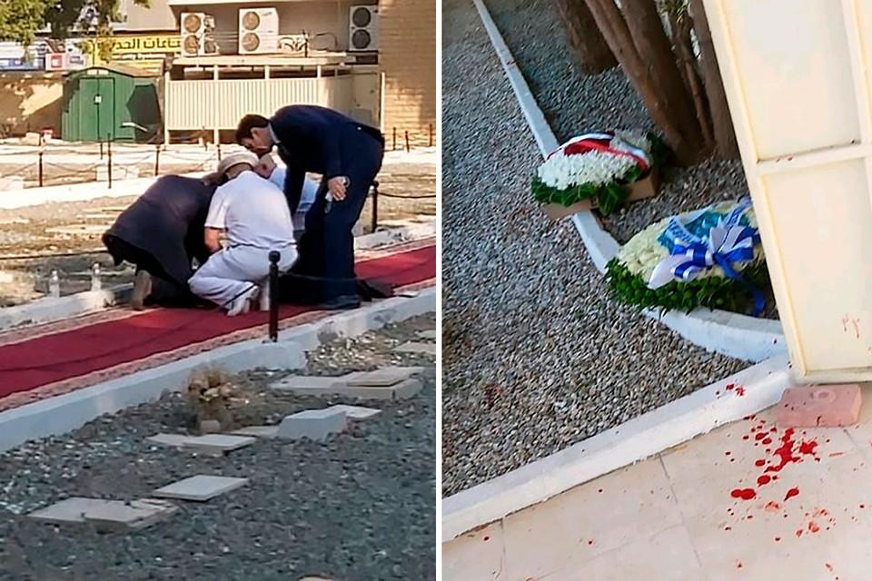 Как минимум четыре человека получили серьезные ранения на немусульманском кладбище города Джидда. Фото: twitter.com/Clarencewoman