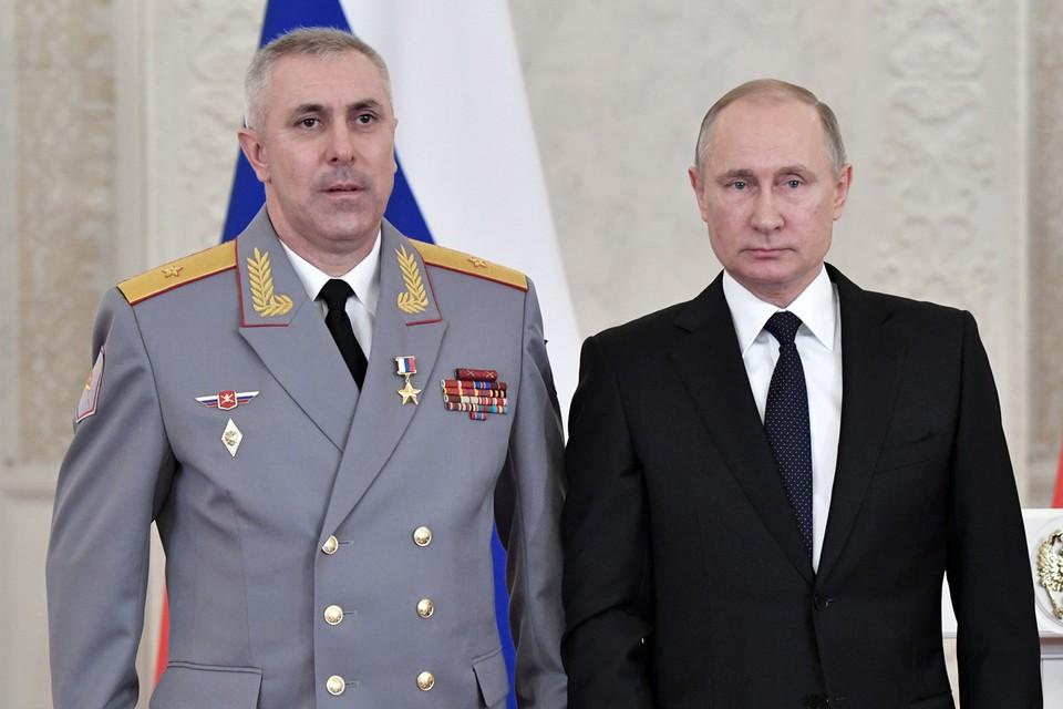 К Мурадову в самой полной мере относится выражение «боевой офицер». Фото: Алексей Никольский/ТАСС