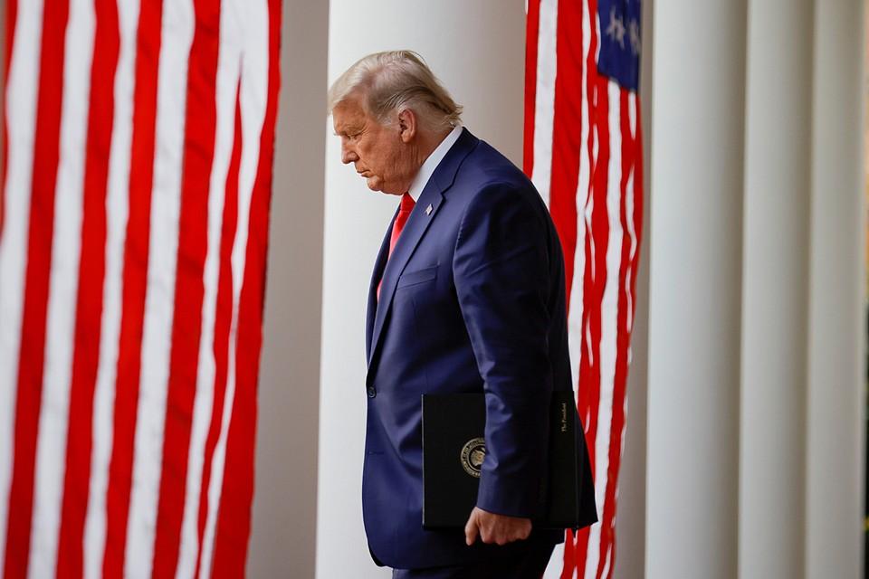 Дональд Трамп впервые публично признал победу своего соперника