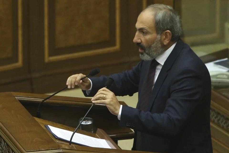Премьер-министр Армении считает себя главным ответственным за ситуацию в Карабахе