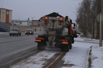 Зимой на дорогах Ижевска будут использовать новый реагент
