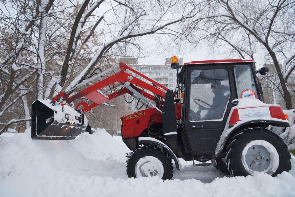 Снегоуборочная техника готова на 70%.