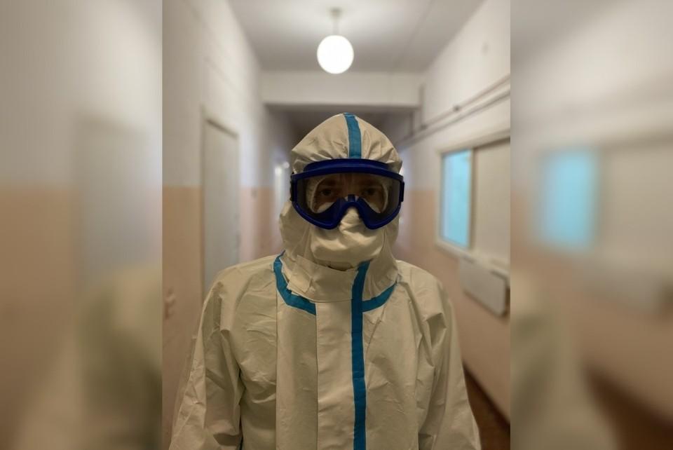 Александр Стуков сейчас работает в реанимации ковидного отделения