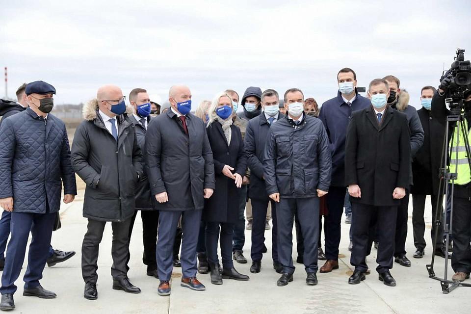 Фото пресс-службы губернатора Краснодарского края