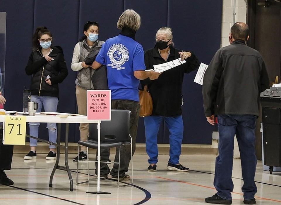 Пересчёт голосов на президентских выборах в США продолжается до сих пор