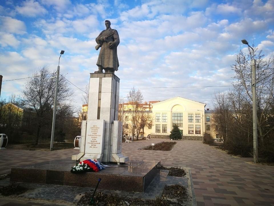 Братская могила защитников Сталинграда