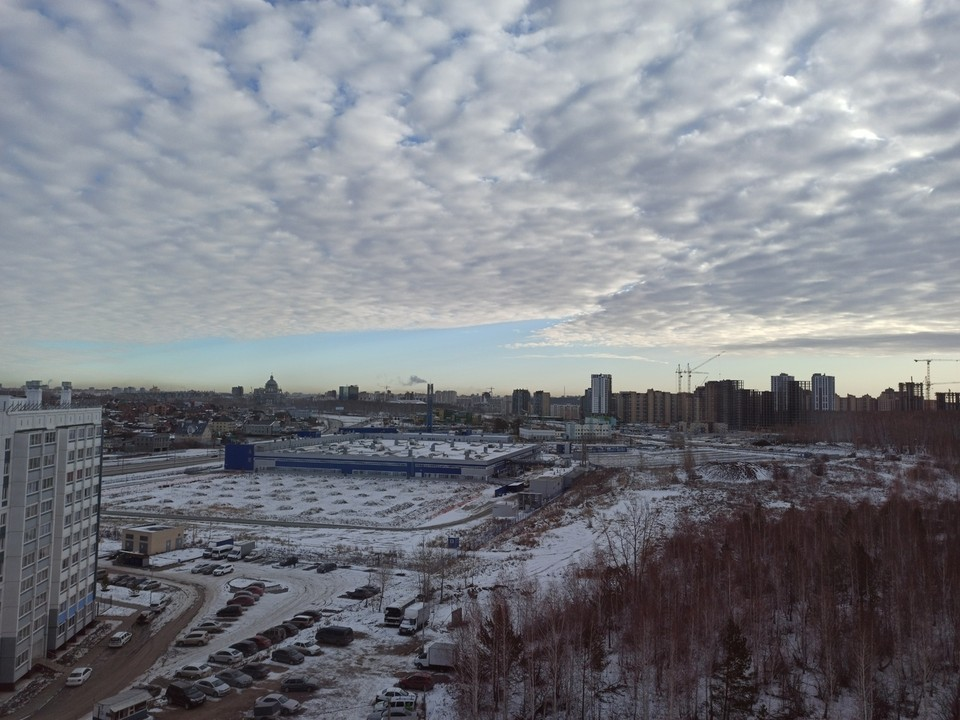 В Челябинске облачно