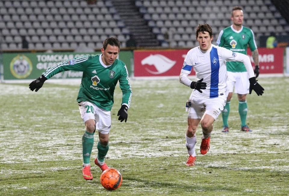 Последний матч «Томь» проиграла со счетом 1:2.