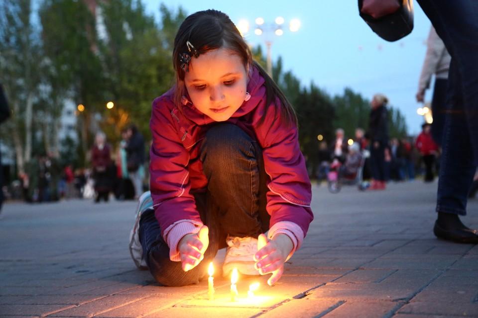 Дети Донбасса рано повзрослели