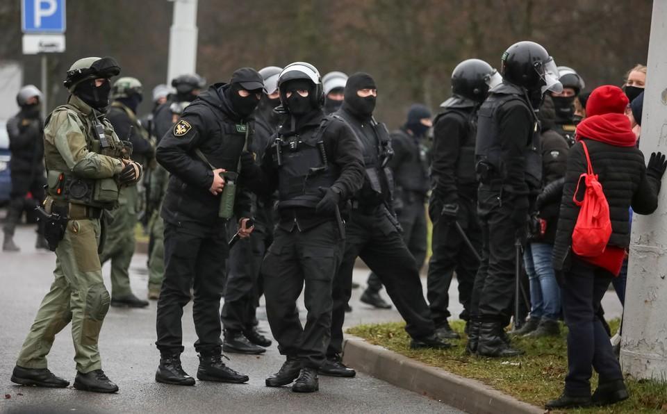МВД Белоруссии подтвердило применение спецсредств на протестах в Минске