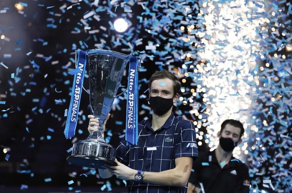 Даниил Медведев стал вторым в истории россиянином, выигравшим итоговый турнир ATP