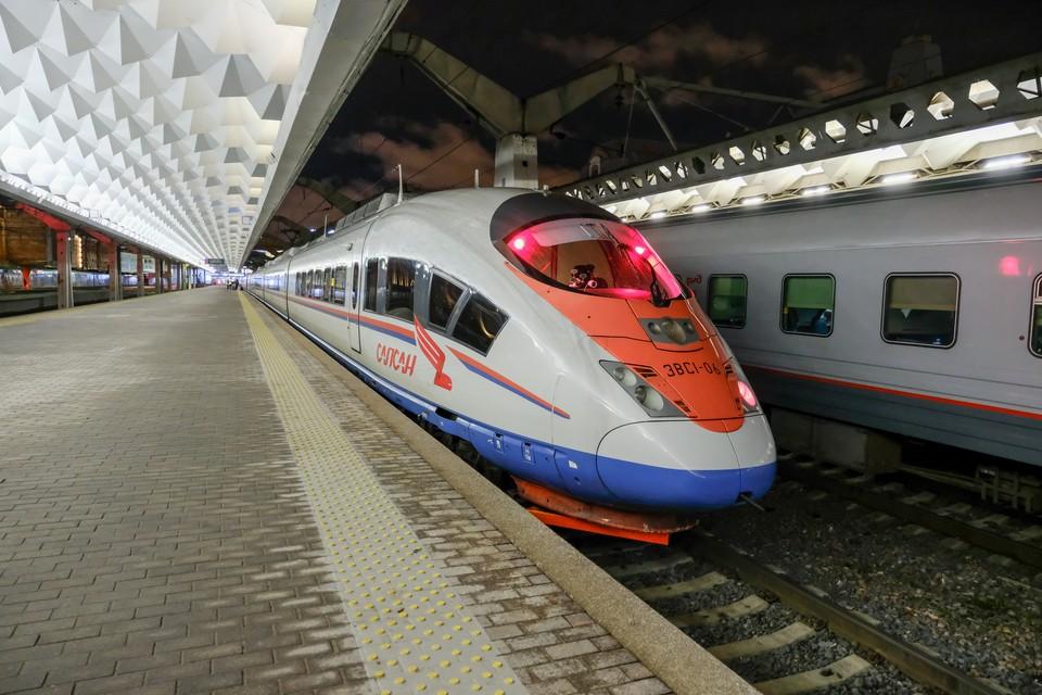От Москвы до Петербурга по ВСМ можно будет доехать за два часа.