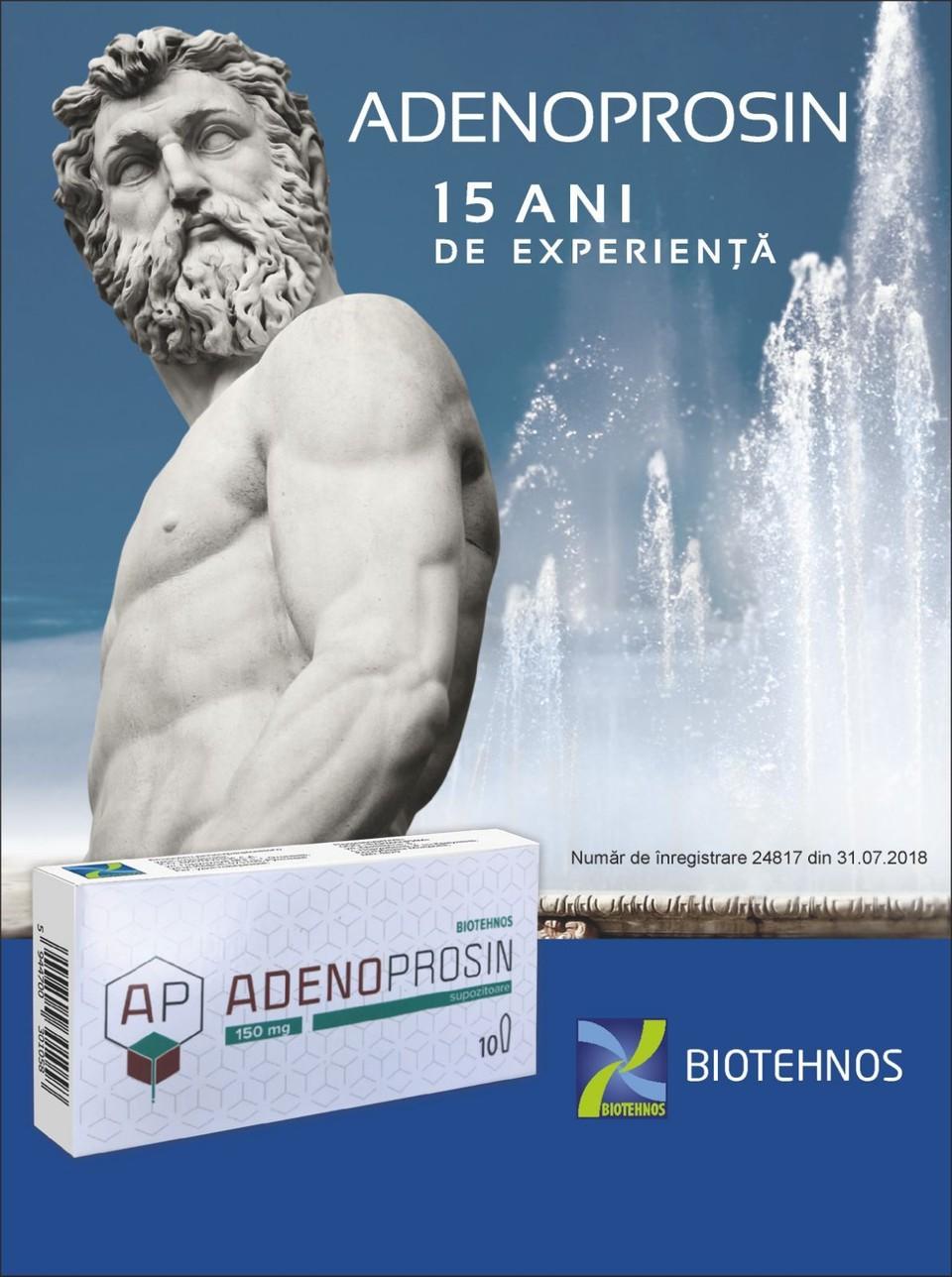 Натуральный препарат, который разработан так, чтобы активные вещества натурального происхождения усваивались организмом с высокой эффективностью – «Аденопросин 150 мг»