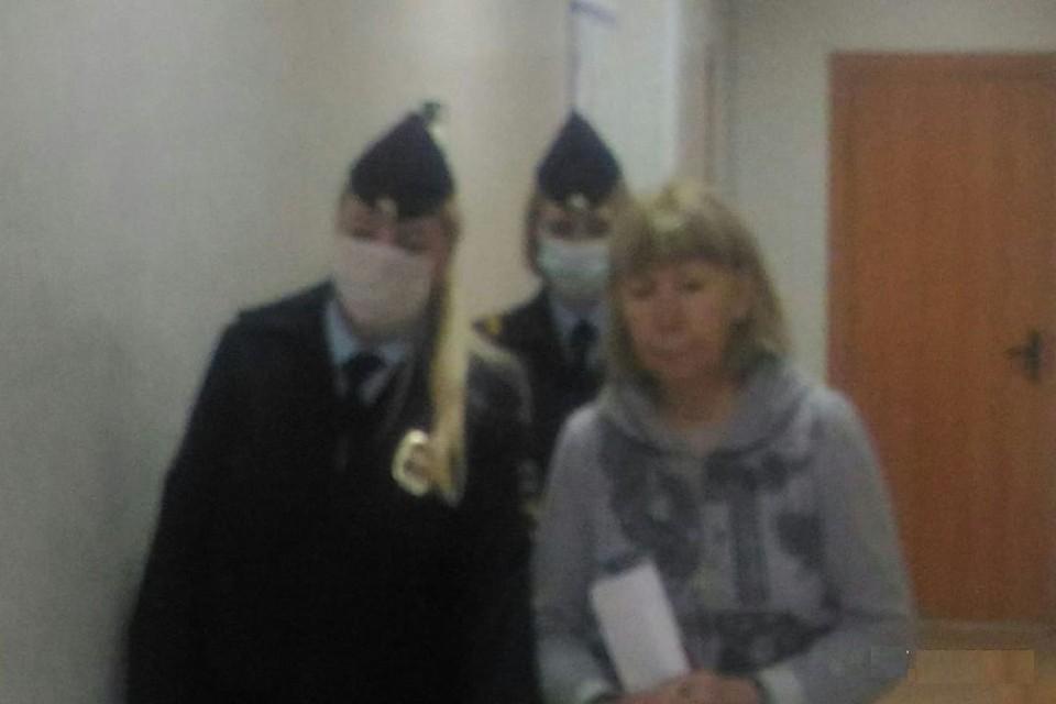 Под арестом Александра Аверина будет находиться 1 месяц и 21 день. Фото: пресс-служба Управления Судебного департамента в Новосибирской области