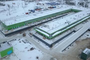 В Салехарде завершается строительство инфекционного госпиталя на сто мест