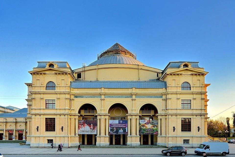 """Здание """"Мюзик-Холла"""" уйдет на реконструкцию. Фото: musichallspb.ru"""