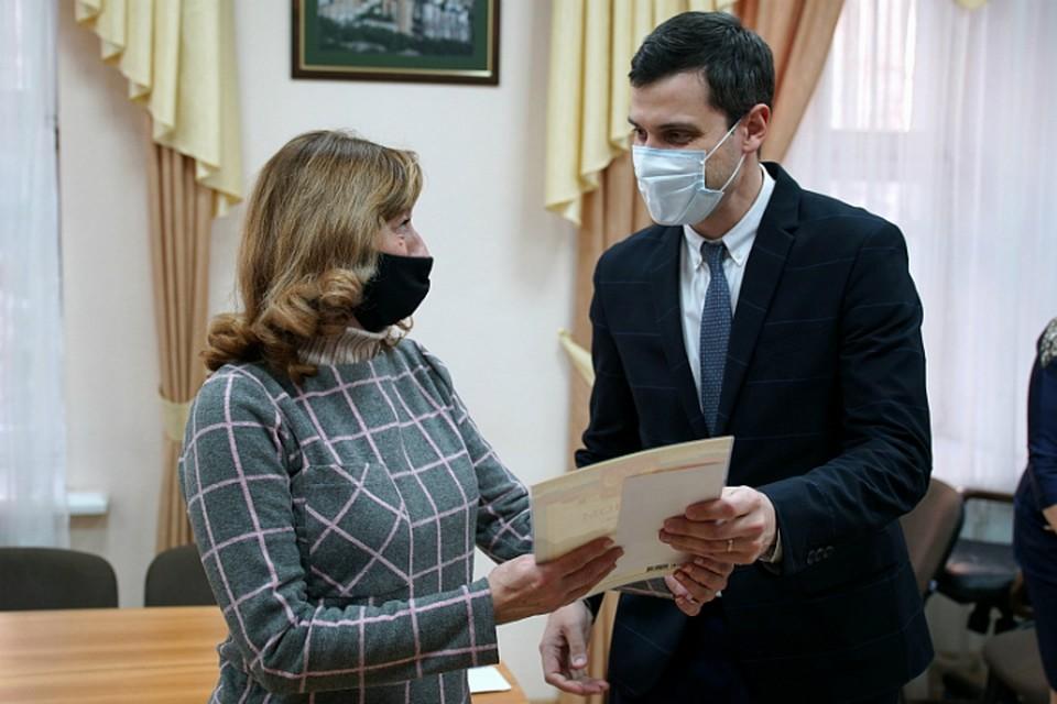 В Хабаровске деньгами отметили лучший двор и лучший подъезд