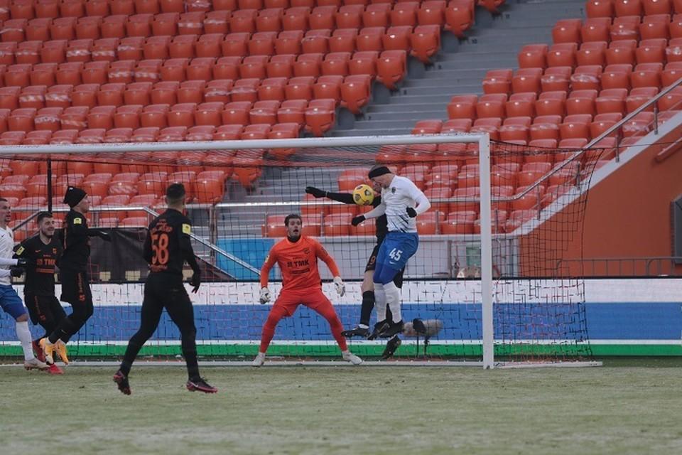 «Урал» на последних минутах вырвал победу у «Сочи» 1:0