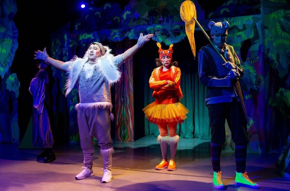 Маленьких зрителей ждет необычное путешествие. Фото: музыкальный театр.