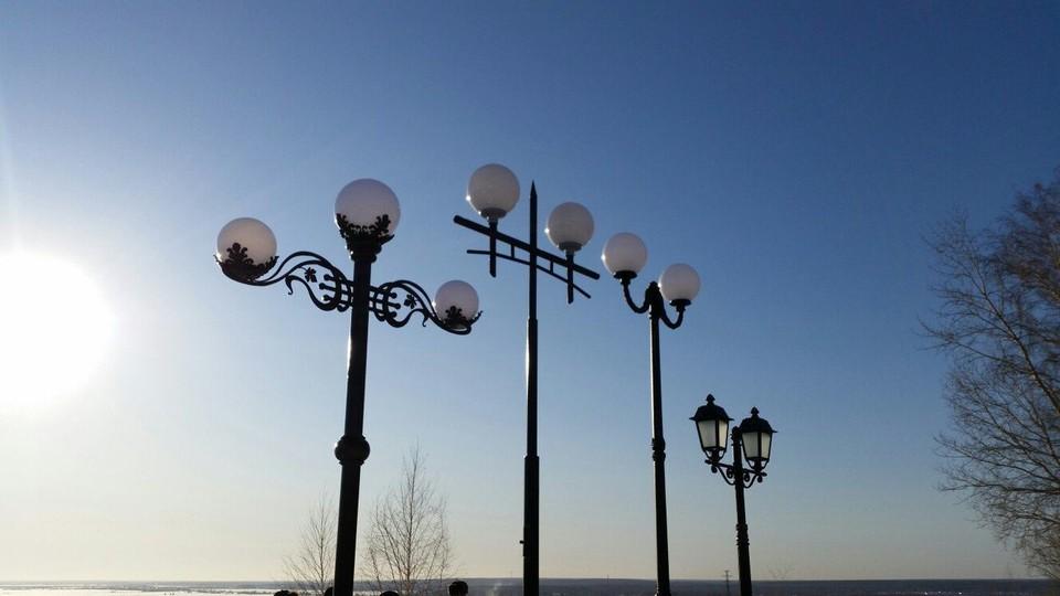 Окончательный перечень объектов наружного освещения станет известен после утверждения городского и областного бюджетов.