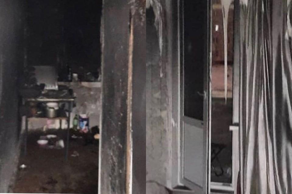 Вывели из огня стариков и детей: в Оренбурге патруль Росгвардии помог спасти на пожаре 12 человек