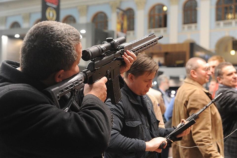 Закон о праве на приобретение оружия в России предложили изменить
