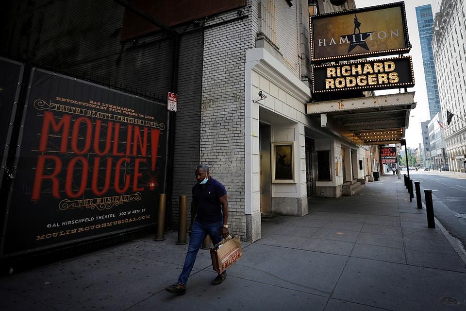 Бродвейские театры откроются только после массовой вакцинации от COVID-19