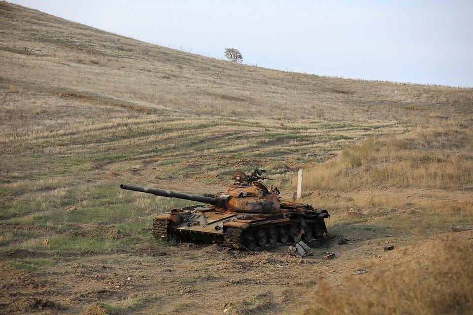Конфликт в Карабахе обострился в конце сентября 2020 года
