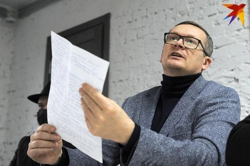 Юрий Воскресенский рассказал о своем предложении властям.