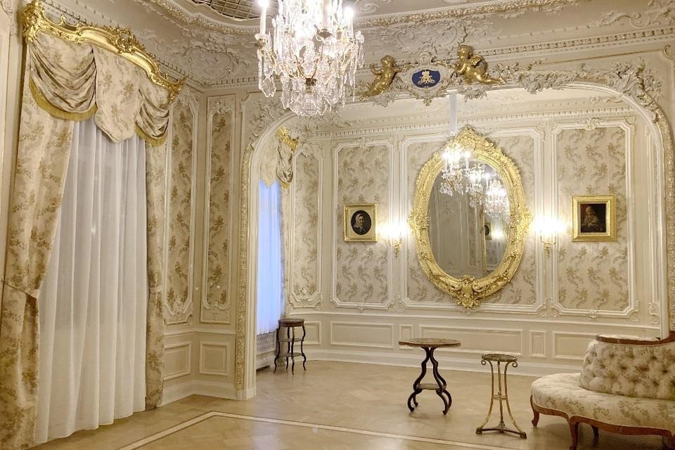 Парадным интерьерам Юсуповского дворца вернули первозданный вид. Фото: gov.spb.ru