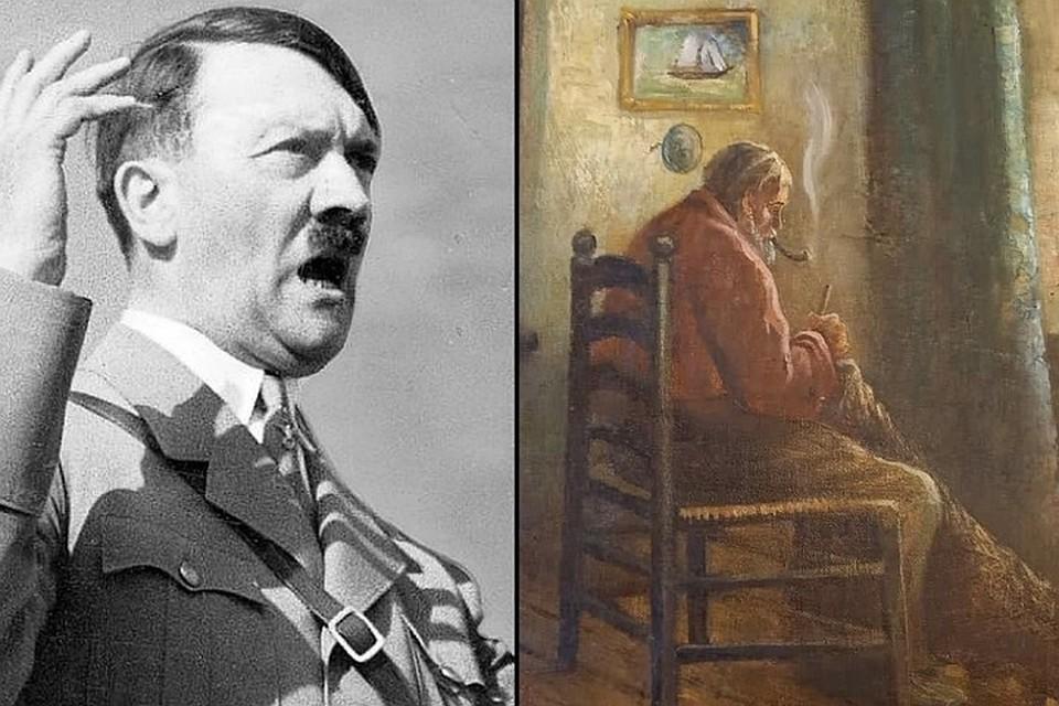 Картина кисти Гитлера появилась в продаже на Avito.