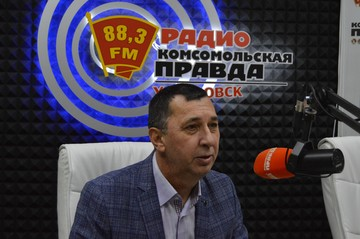Александр Мазур на радио «Комсомольская правда - Хабаровск»