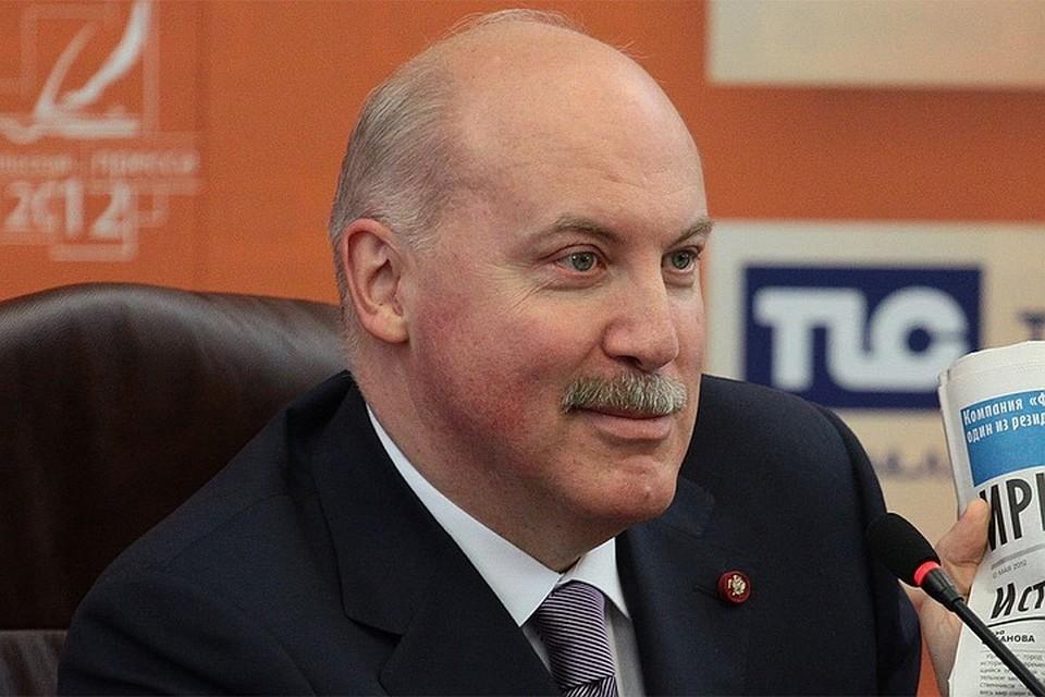 Посол России в Республике Беларусь Дмитрий Мезенцев