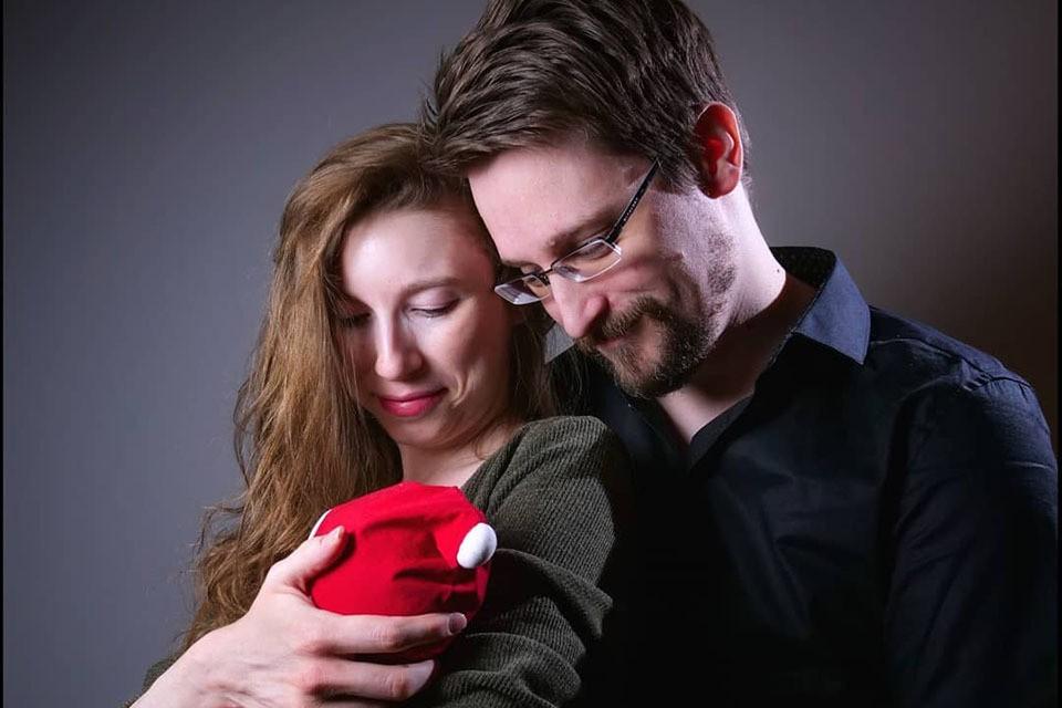 Эдвард Сноуден впервые стал отцом