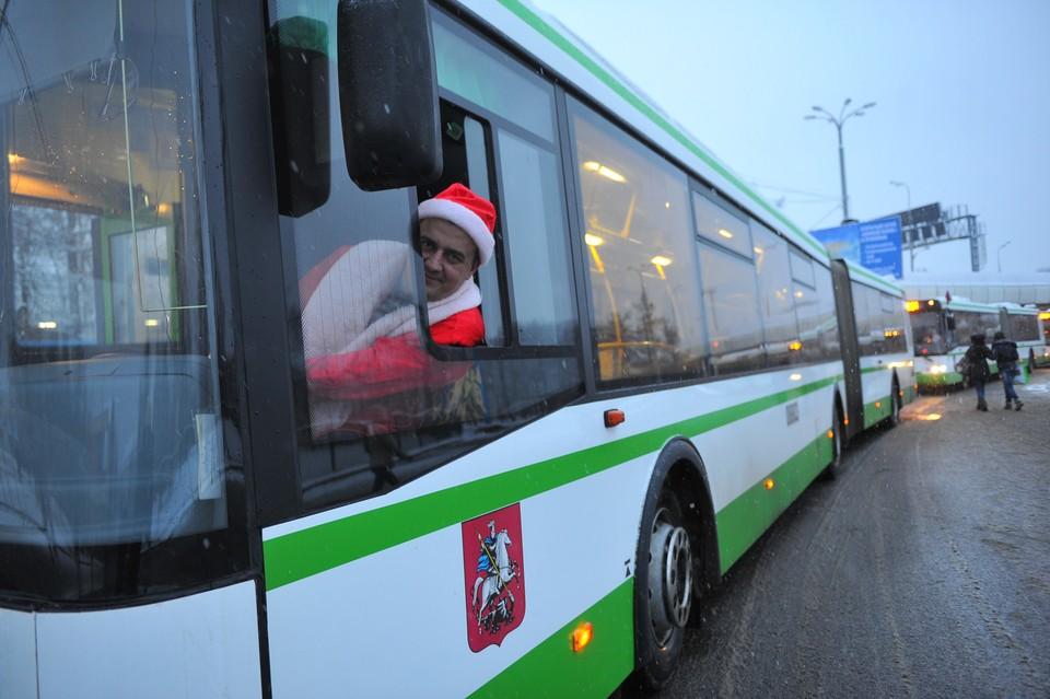 Транспорт31 декабря будет ходить как в будний день. Фото: Евгения ГУСЕВА.