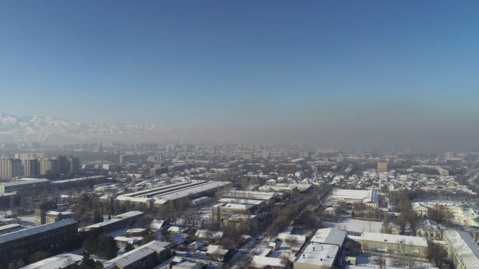 Каждую зиму последние несколько лет бишкекчане наблюдают густой смог над городом.
