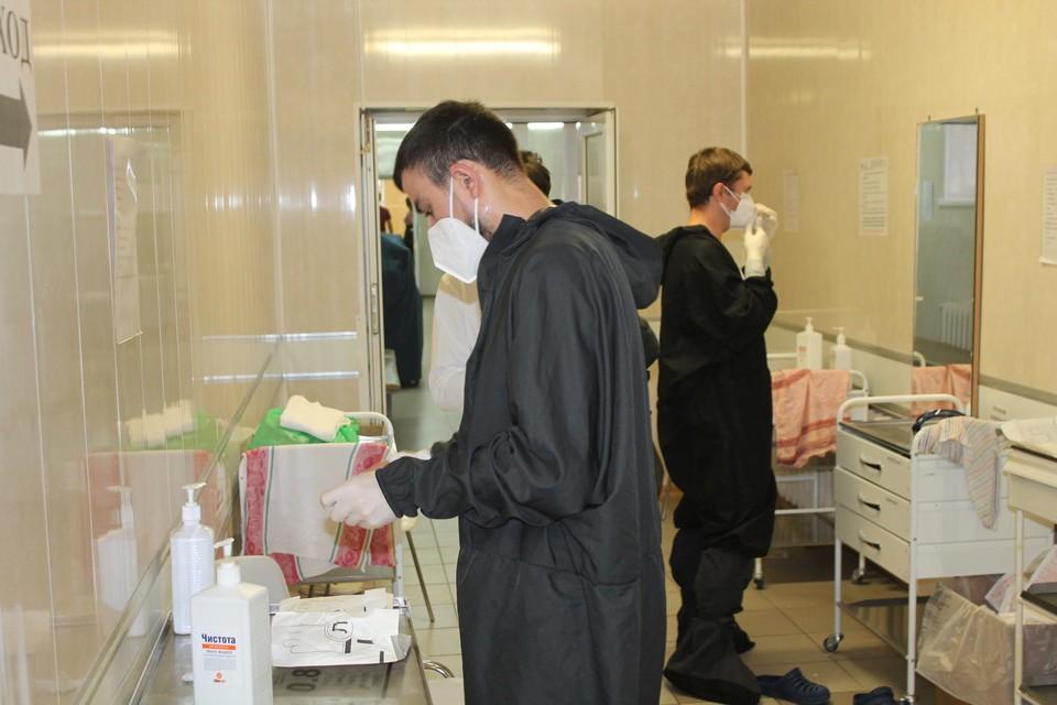 В регионе растет число заболевших именно в районах