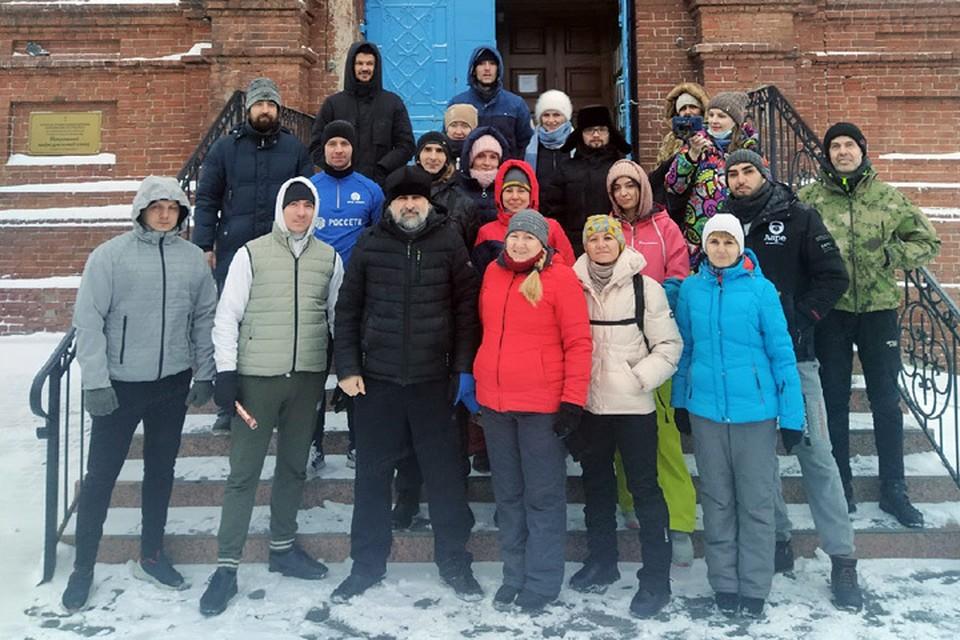 Участники трезвой пробежки (фото: Александр Микушин)