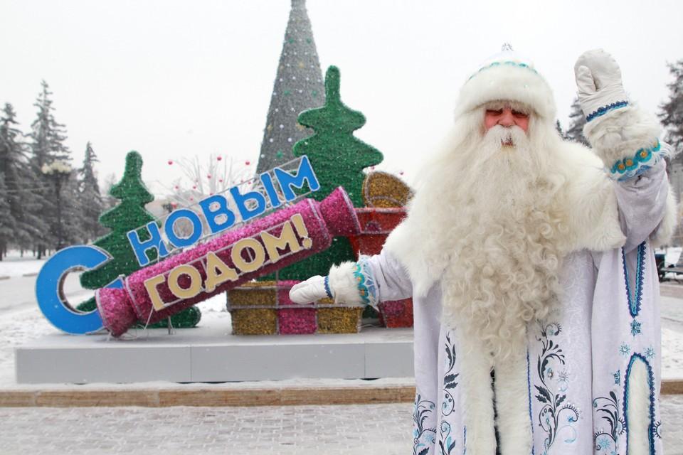 В первый день нового года ростовчане продолжают получать поздравления.