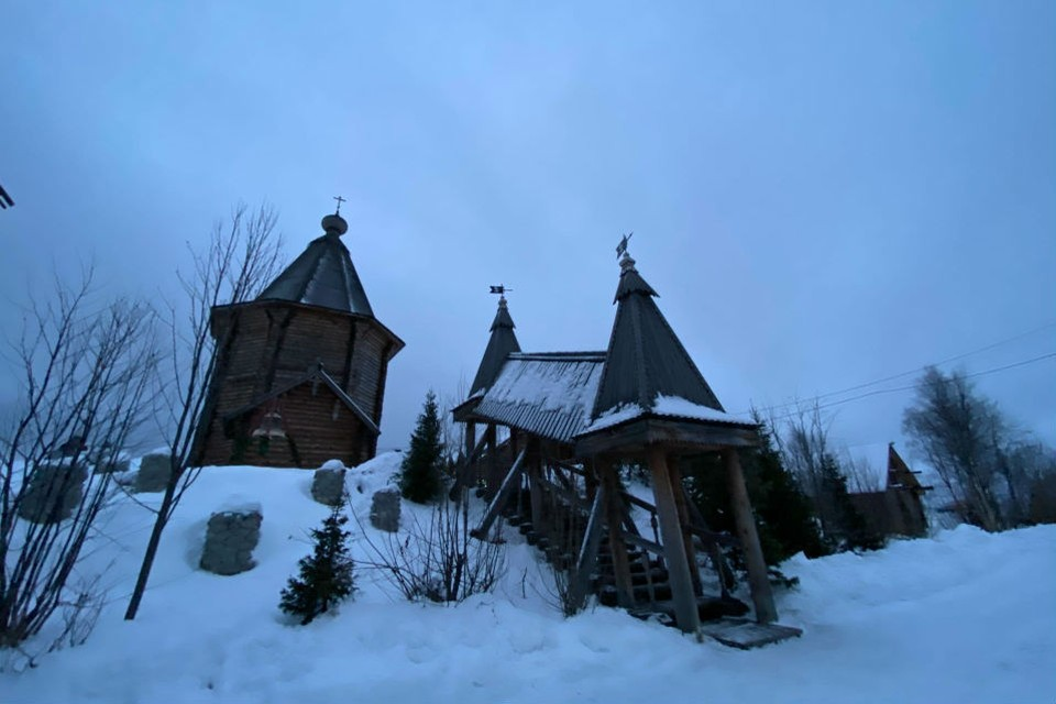 В 2020-м в столице Заполярья появился мужской монастырь.
