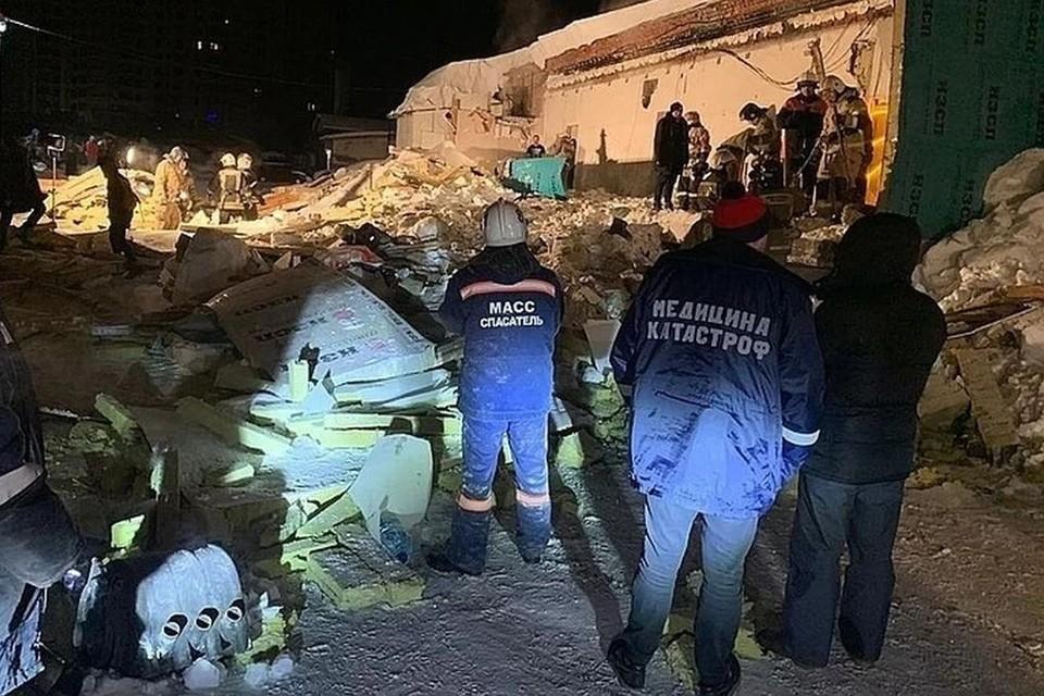 ЧП произошло ночью. Фото: ГУ МЧС России по Новосибирской области