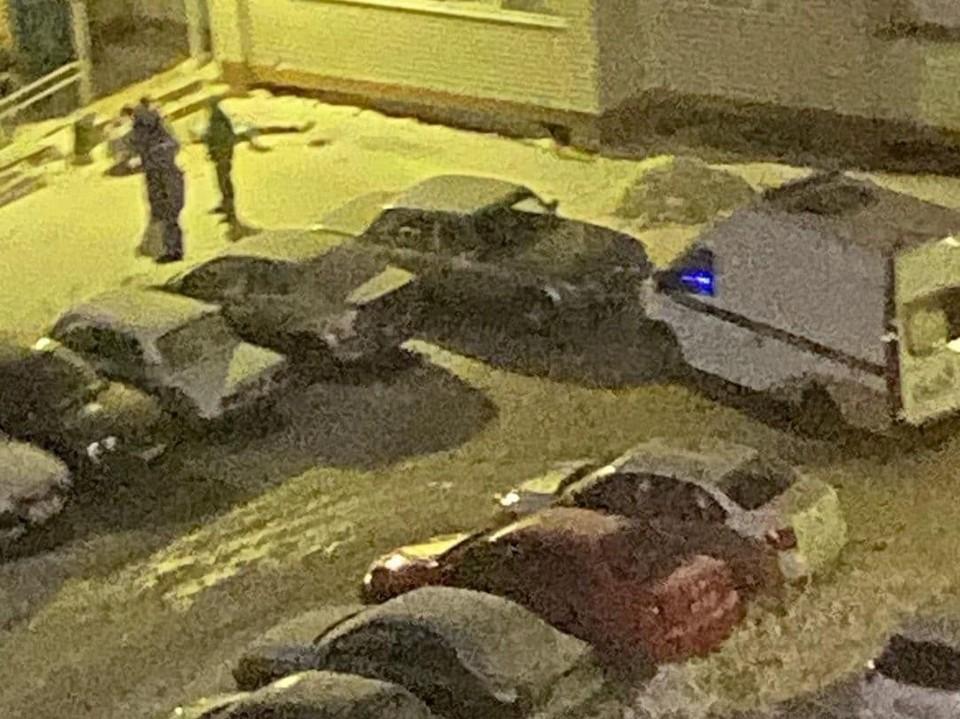 """Трагедия произошла на Саратвовском шоссе. Фото """"Балаковской телеги"""""""