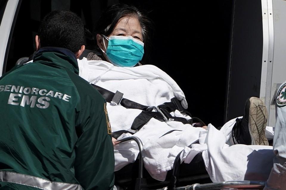 Число заразившихся коронавирусом в штате Нью-Йорк превысило миллион