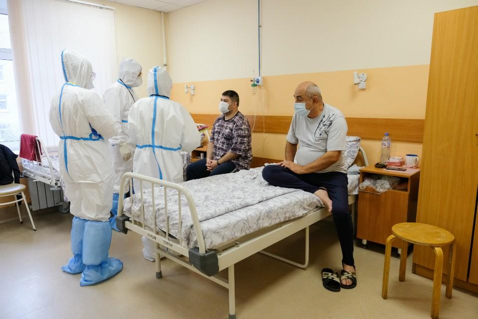 В инфекционных стационарах лечатся свыше трех тысяч человек.