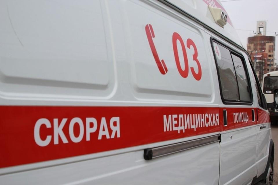 """Бригадой """"скорой помощи"""" сибиряк был доставлен в больницу."""