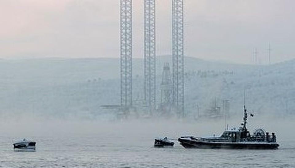 Судно потеряло ход в Охотском море